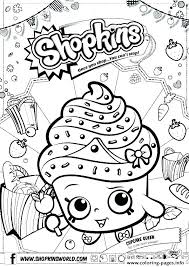 Free Printable Shopkins Shoppies Coloring Pages Sheets Doll Ever