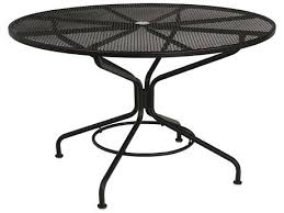 round outdoor dining table with umbrella hole tables for free