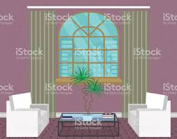 Moderne Wohnzimmer Interior Design Leichte Loft Mit Sofas Fenster