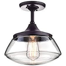 vintage ceiling lighting. CLAXY Ecopower Vintage Metal U0026 Glass Ceiling Light 1lights Pendant Lighting Chandelier