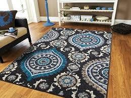 navy rug 8x10 large black modern rugs for living room blue gray navy beige ivory area