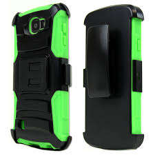 lg zone 3 phone cases. lg optimus zone 3 case, redshield [neon green] heavy duty dual layer hybrid lg phone cases e
