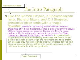 tips on essay writing the thesis statement transitions  7 the intro paragraph  like the r empire a shakespearean hero richard nixon
