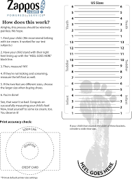 Printable Children S Shoe Size Chart Childrens Shoe Chart Shoe Sizing Chart For Kids Youth Feet