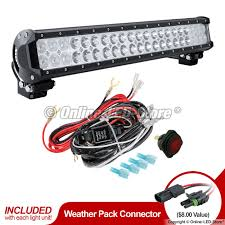 off road jeep led light bar lamphus cruizer crlb42 wiring zoom