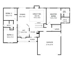 simple floor plans. Very Simple House Plans Open Floor Plan With 5 . P