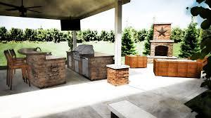 kitchen modern outdoor ideas rectangular aluminium double bowl sink grey metal island range hood black varnished