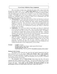 Mla Cover Letter Format Examples Valid For Example Paper