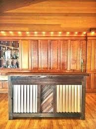 reclaimed corrugated metal reclaimed wood reclaimed wood corrugated metal bar reclaimed wood used corrugated metal