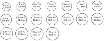 Womens Ring Size Chart Inches Ring Size Chart Mm Womens Famous Ring Images Nebraskarsol Com