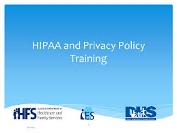 Hipaa And Privacy Policy Training Ppt Video Online Download