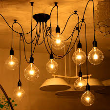 61 most brilliant inspiration diy edison bulb chandelier light fixtures how to wire multiple bulbs together