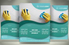 cleaning services flyer v flyer templates on creative market