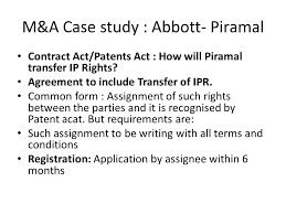 M&a Case Study :3 Abbott -Piramal. - Ppt Video Online Download