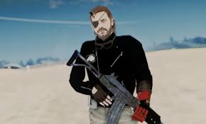 mgsv the phantom pain venom snake leather jacket