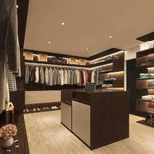 walk in closet bedroom by linken designs