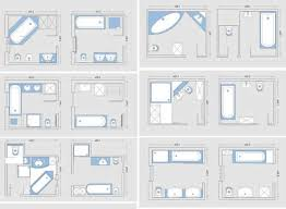Small Picture Modren Small Bathroom Plan Floor With Bath And Toilet In On