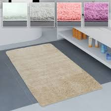 Badezimmer Teppich Einfarbig Versch Teppichcenter24