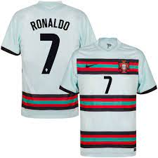 Nike Portugal Ronaldo 7 Away Jersey 2020-2021 (Official Printing)