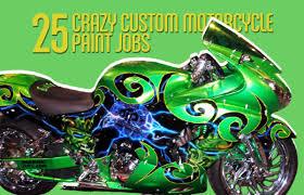 gallery 25 crazy custom motorcycle paint jobs