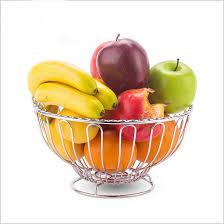 Decorative Metal Fruit Bowls New Modern metal fruit plate table top fruit bowl Elegant metal 36