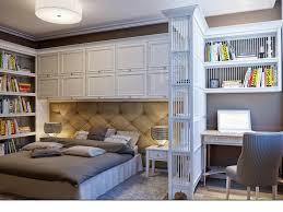... Wall Units, Bedroom Storage Wall Units Overbed Storage Creative Bedroom  Floor Plan With Bed Headboard ...