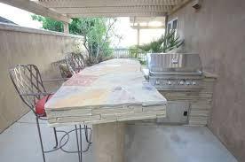 Outdoor Kitchen Countertops DC West Construction Inc  Carlsbad CA