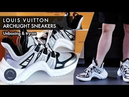 Louis Vuitton Archlight Silver Ss18 Sneakers Unboxing And Mens Try On