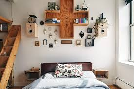 new york bohemian home decor bedroom scandinavian with wooden