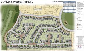 plans lodged for prescot housing ilrative site