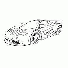 Raceauto Kleurplaat Printen Norskiinfo