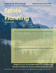 Reg E Error Resolution Date Chart For 2019 September 2019 Estate Planning Cle By The State Bar Of South