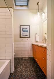 Light Cherry Lighted Curio Cabinet  EBTH Creative Cabinets - Bathroom remodeling denver co