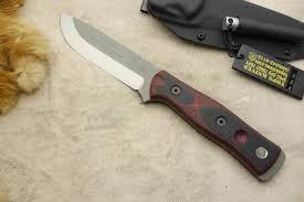 Gerber 154cm Emerson Design Tops Tpbros154rb B O B Fieldcraft Knife W Red Black G10 Handle 154cm