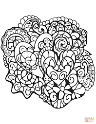 heart design coloring pages. Contemporary Coloring Click The Abstract Heart Patterns Coloring Pages  With Design Coloring Pages E