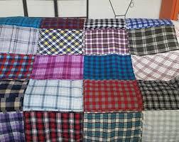 Flannel Quilt Patterns Unique Flannel Quilt Etsy