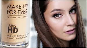 make up for ever ultra hd first impressions foundation review