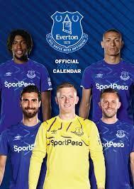 Everton FC 2020 Calendar - Official A3 Wall Format Calendar : Amazon.de:  Bücher