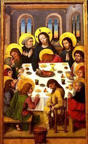 the last supper meisters des hausbuchs