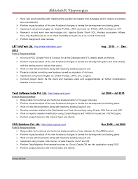 Ssrs Sample Resume