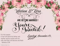 Customize 1 000 Wedding Invitation Templates Postermywall