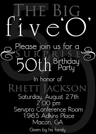 50th birthday invitation templates free nice the 50th birthday invitation template free templates