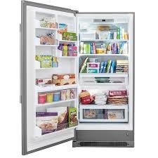 Kitchen Appliance Shop Frigidaire Professional 1858 Cu Ft Upright Freezer Stainless
