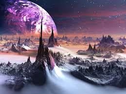 Purple Space 4k Ultra HD Wallpaper ...