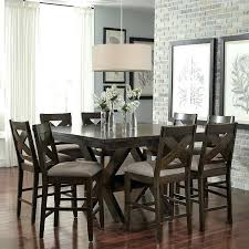 9 pc dining room table sets enchanting dining room decor fabulous square counter height dining table