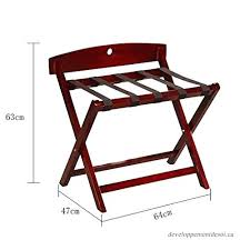 suitcase stand solid wood luggage 1 4 hotel bedroom rack holding suitcases backpacks as folding ikea standard sizes cm