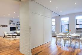 White Accent Temporary Room Divider Design comes with Laminate ...