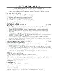 Pharmacy Resume Sample Best of Pharmacist Resume Sample Pharmacy Technician Skills Resume Retail