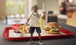 Travis Scott's new McDonalds meal has the internet cracking jokes