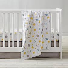 view in gallery moon star and sun crib bedding from the land of nod